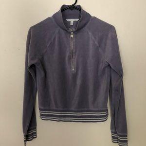 Victoria's Secret purple turtle neck sweater